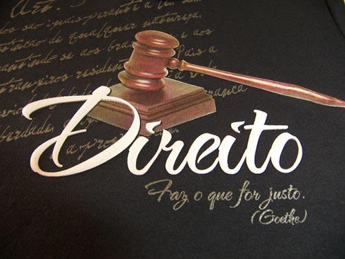 Materias do curso de direito